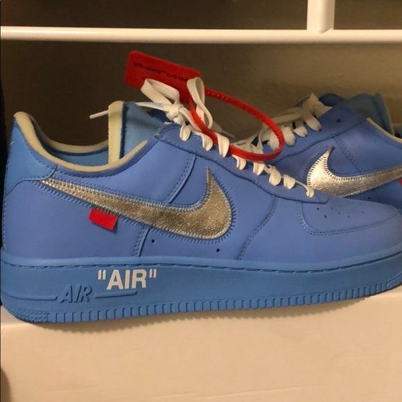 Virgil Ablo 7 Baby Blue Air Force Ones
